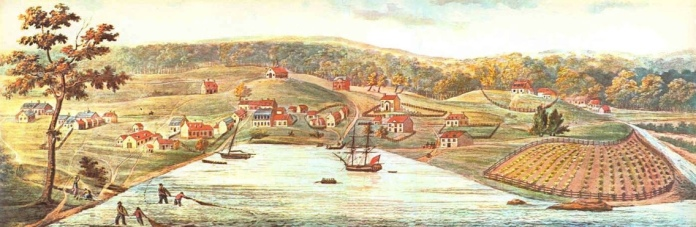 Baltimore in 1752, as remembered by John Moale, Jr.
